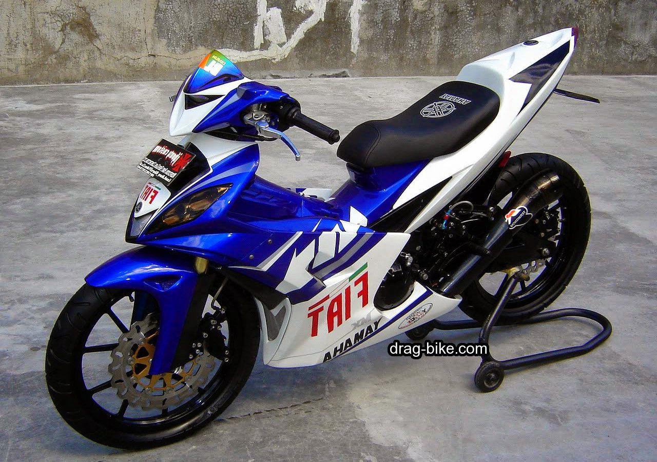 100 Contoh Inspirasi Modifikasi Yamaha Mx King 150 Motor Balap