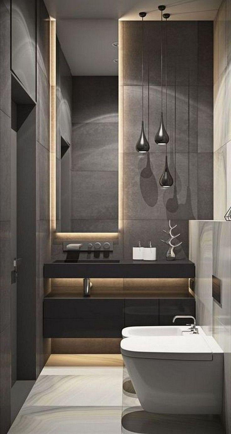 Peque A Aplicaci N Ba O De Dise O Pequenasideasderemodelaciondebano Apartment Bathroom Design Modern Bathroom Elegant Bathroom