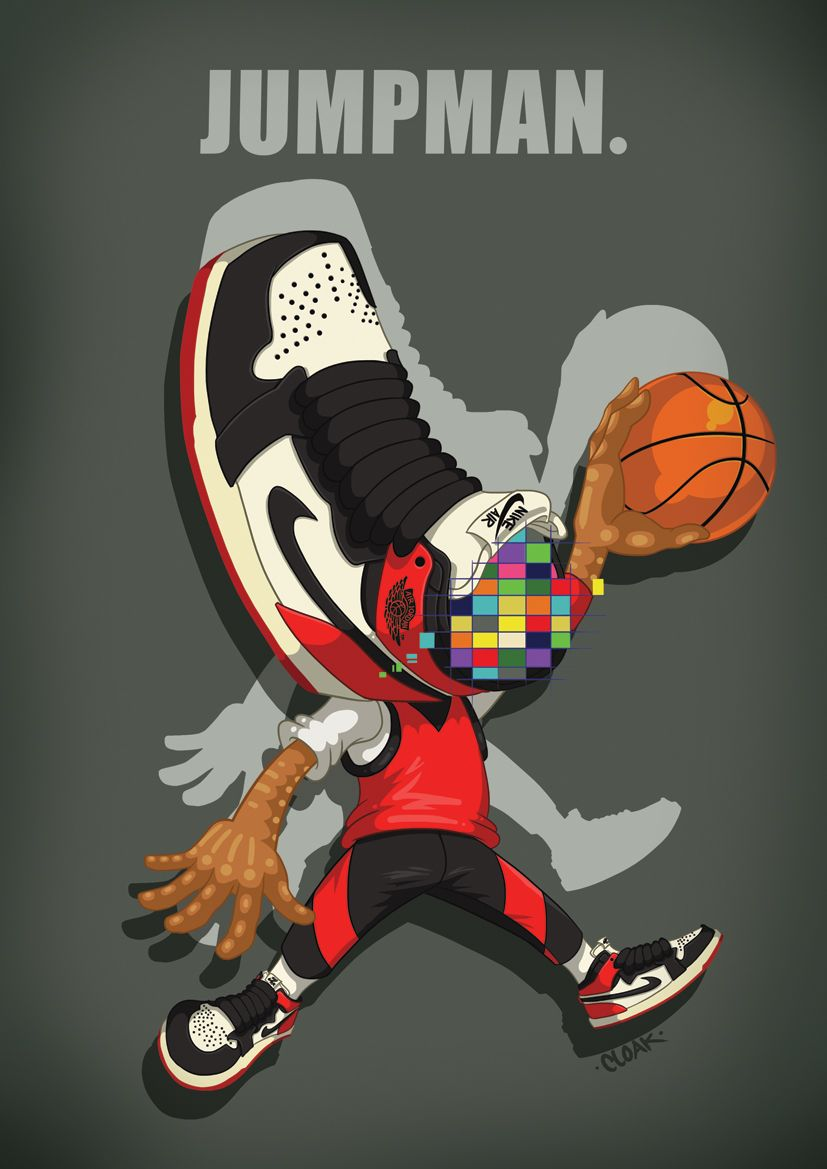 The Jumpman by CLOAK : http://www.flickr.com/photos/chern67/