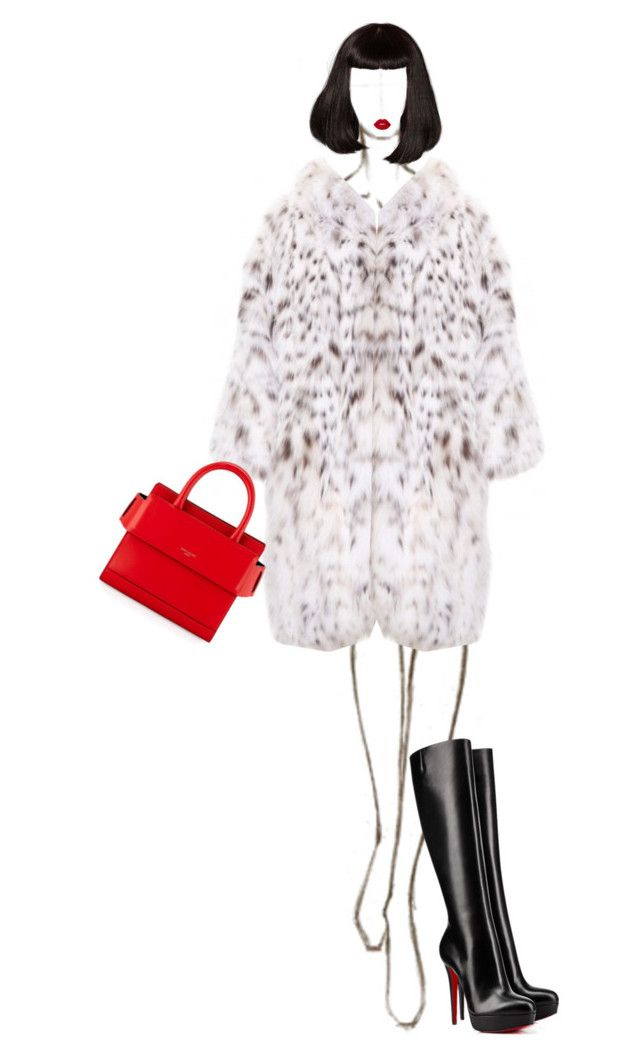 """""""Cruella De Vill vibes💋"""" by ladygagafashion ❤ liked on Polyvore featuring Givenchy and Christian Louboutin"""