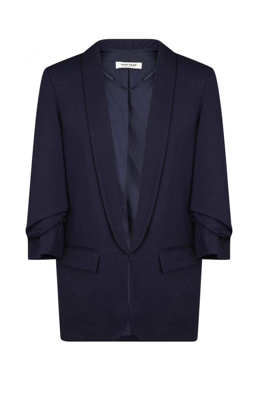 Naf naf veste de tailleur fluide oversize bleu marine 1   Garde-robe ... 4924d19f8fc