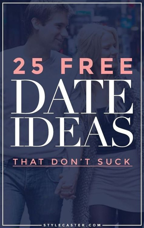 25 FREE first date ideas. Love don't cost a thing.
