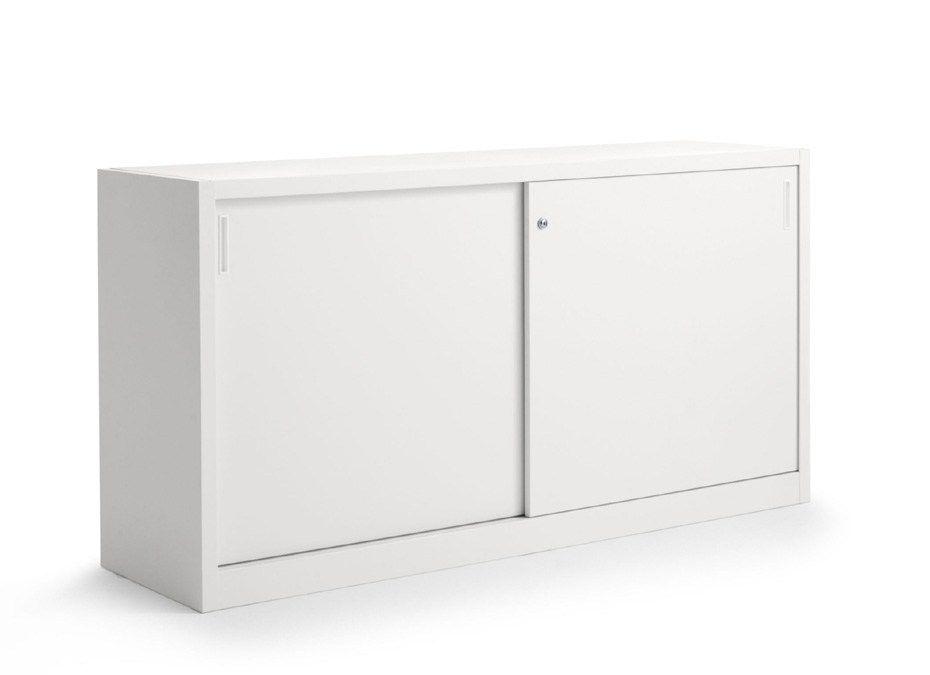 Mueble de oficina modular con puertas correderas fileline - Mueble puertas correderas ...