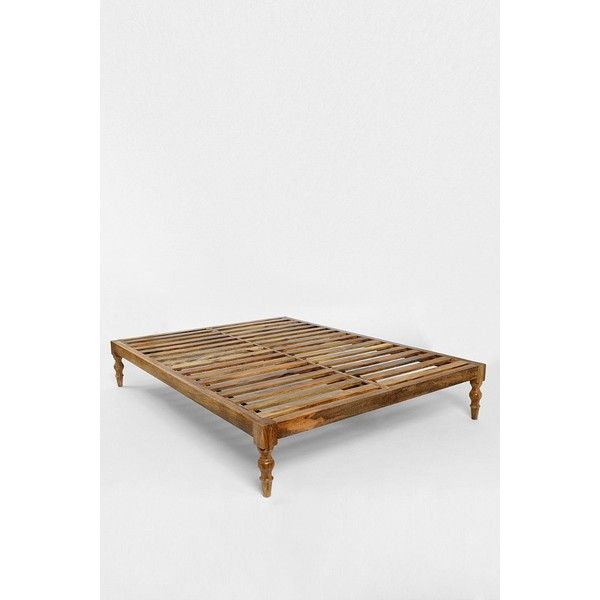 Bohemian Platform Bed 679 Liked On Polyvore Featuring Home