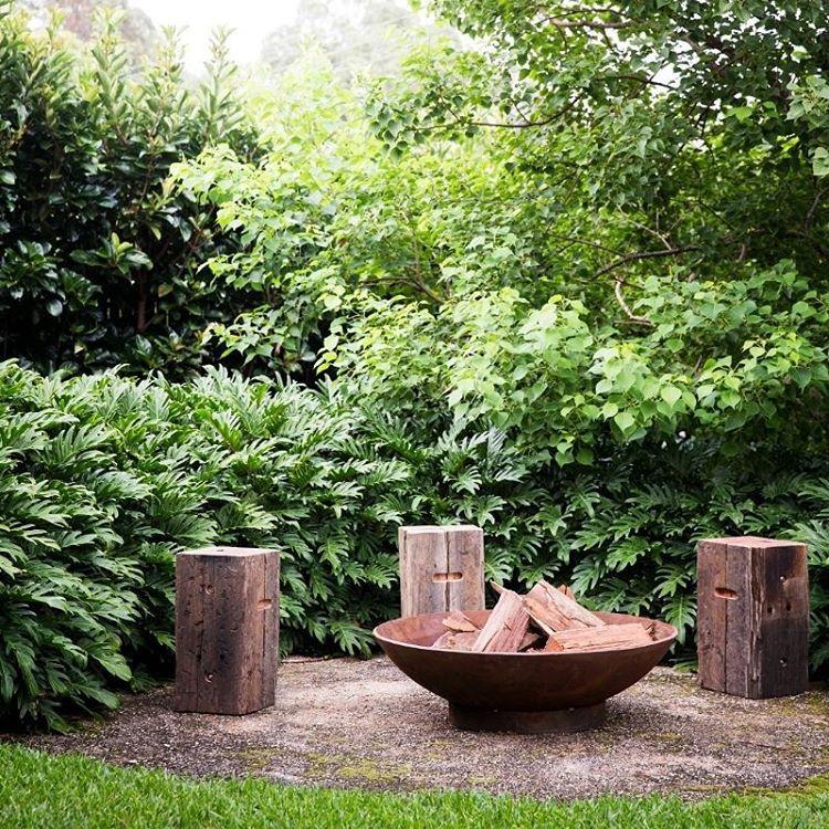 Ideia simples e aconchegante | www.robertplumb.com.au