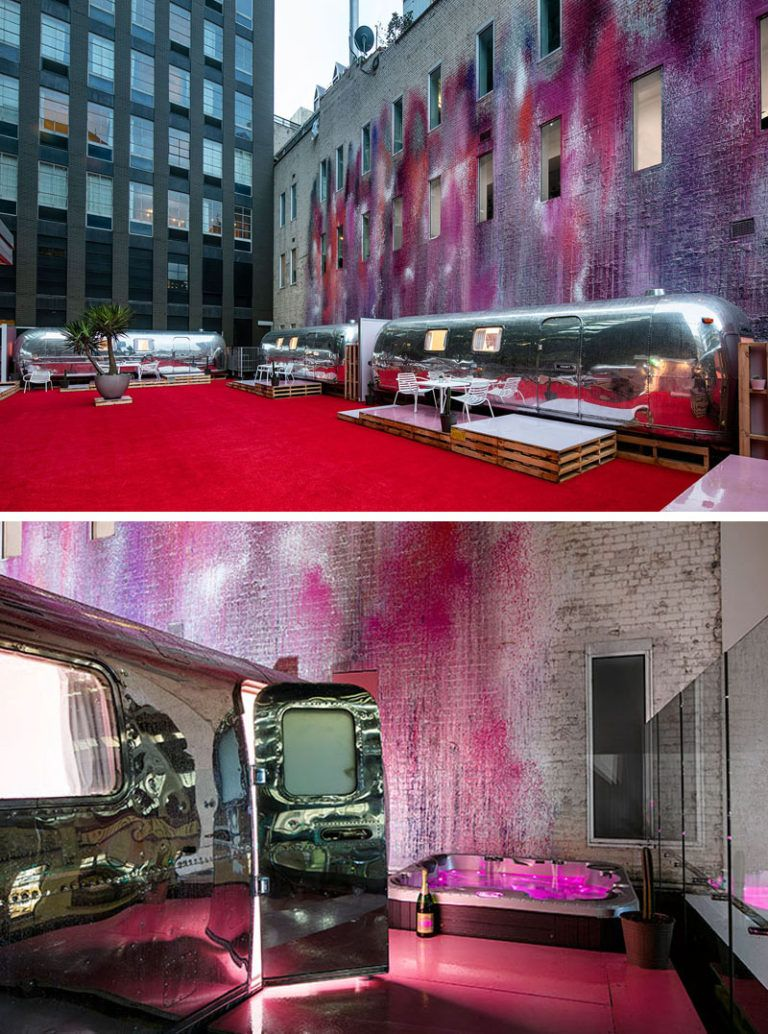 You Can Stay In An Airstream At This Rooftop Boutique Hotel In Melbourne Australia Hotel Melbourne Hotel Airstream