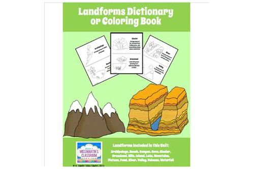 Geography Landforms From A To Z For Kids Books For Kids Giveaway Homeschool Social Studies Social Studies Resources Social Studies Activities