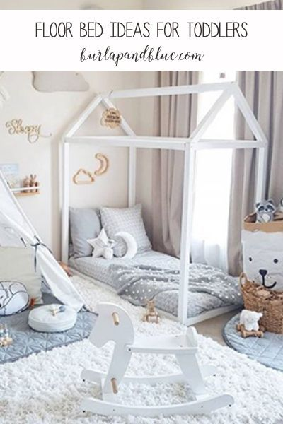 Floor Bed Ideas For Toddlers And Kids Kids Floor Bed Toddler Floor Bed Floor Bed