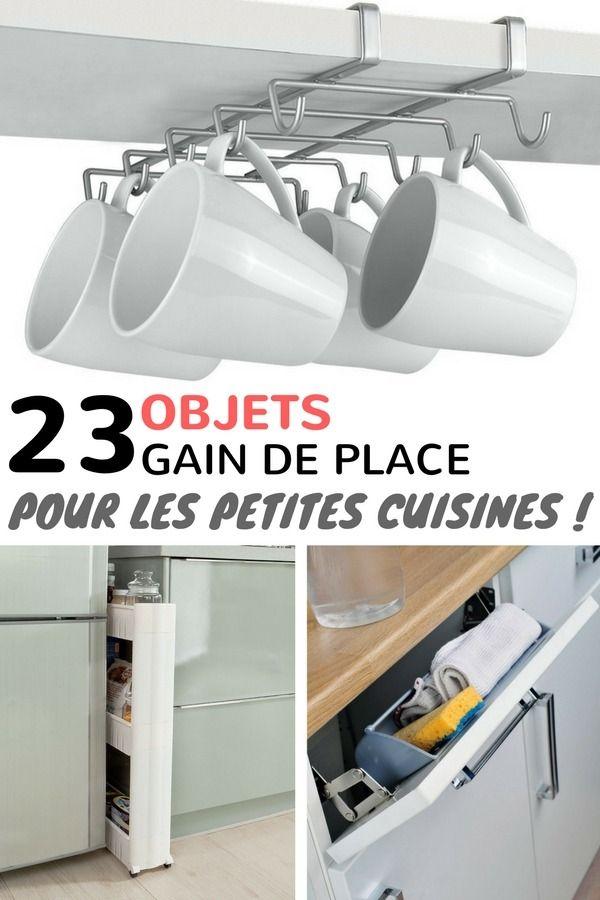 23 objets gain de place pour optimiser l 39 espace d 39 une petite cuisine bricolage pinterest. Black Bedroom Furniture Sets. Home Design Ideas