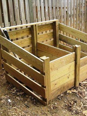 Устройство компостной кучи: как сделать компостный ящик (кучу) на даче