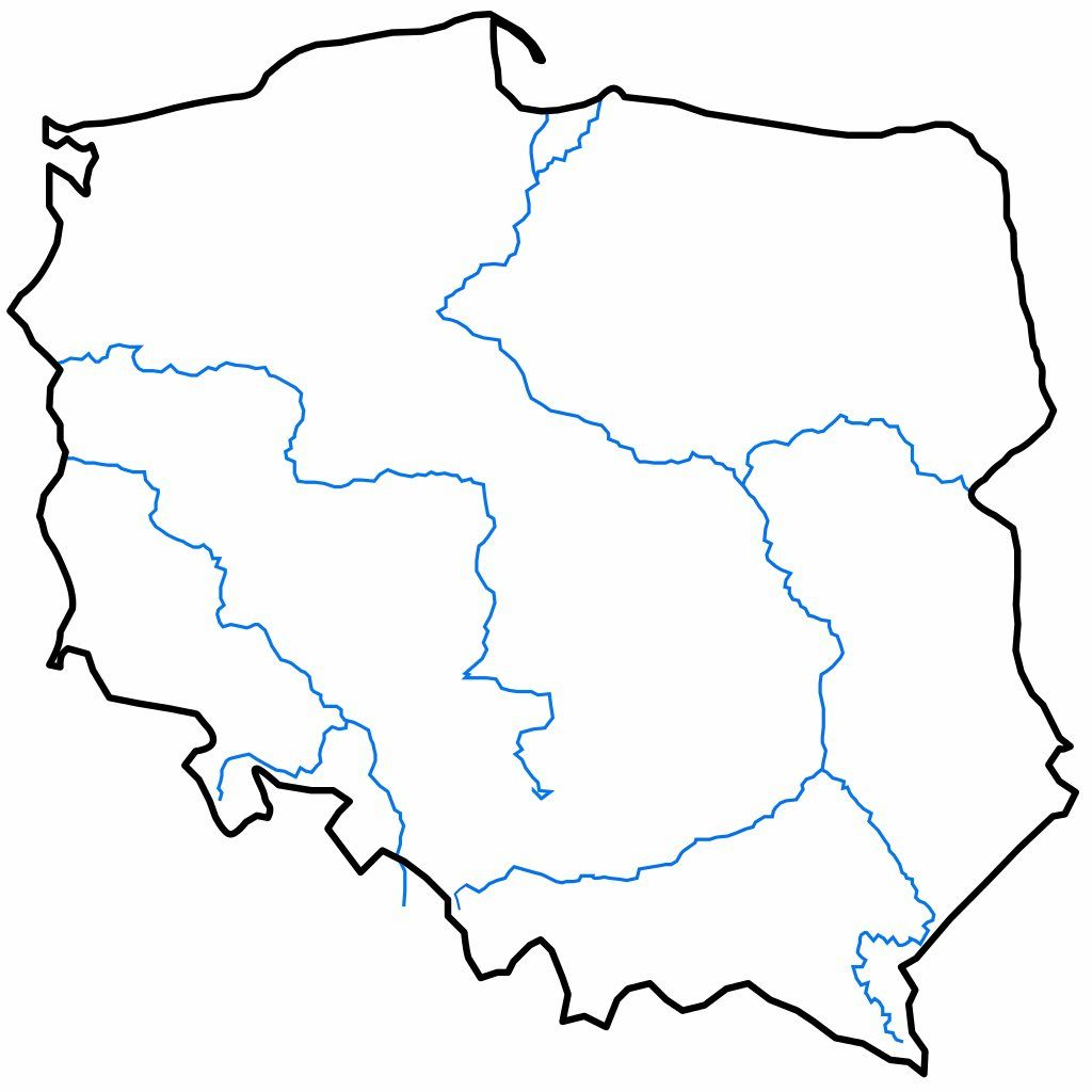 Kolorowanki Mapa Polski Do Pobrania I Drukowania Dla Dzieci I