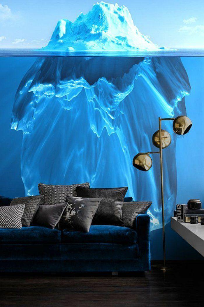 Delightful Kreative Wandgestaltung Sorgt Für Großartige Erscheinung Im Raum