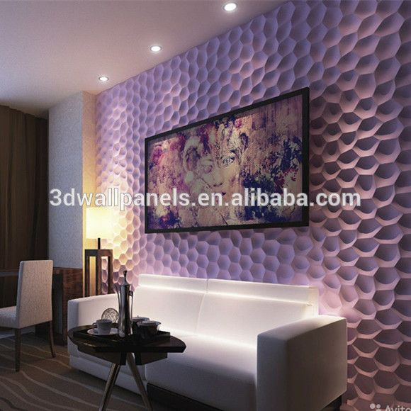 Source Ready To Paint Decorative Interior Wall 3d Mdf Panel On M Alibaba Com Purple Walls Gypsum Wall Wall Paneling
