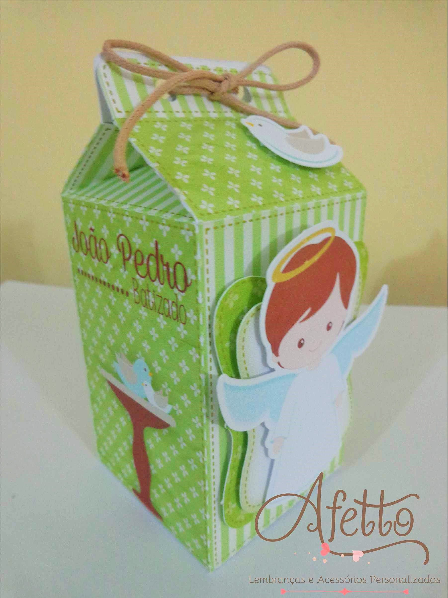 Caixa Milk Batizado