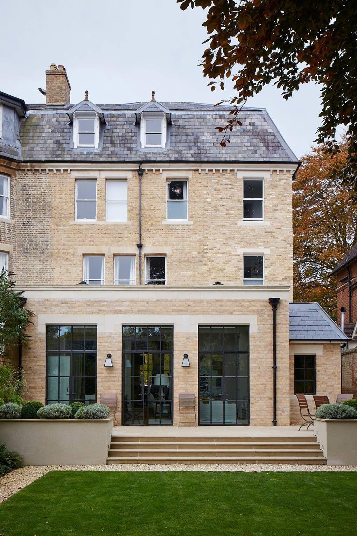 A modern scheme for a Victorian House