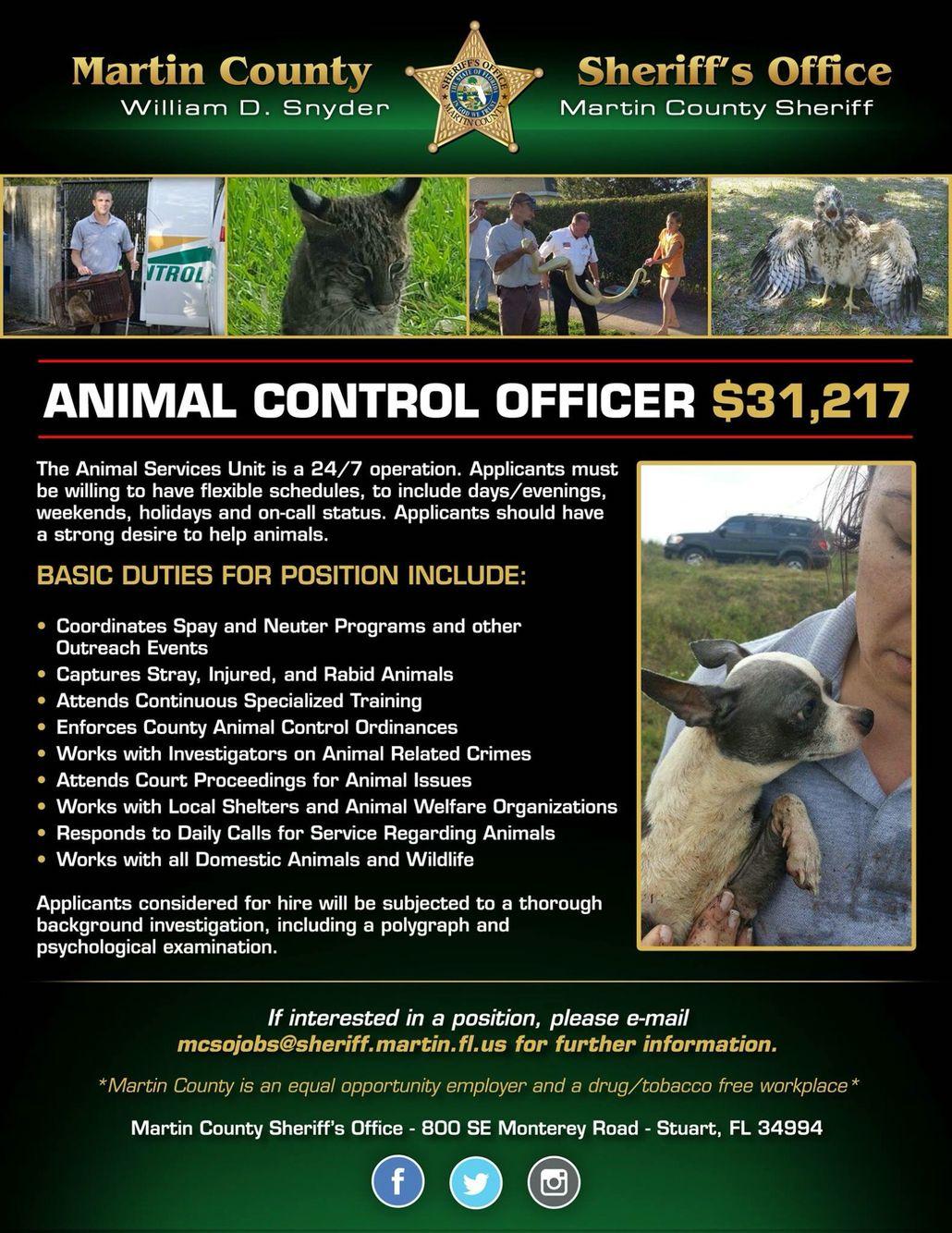 animal control officer jobs massachusetts