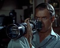 Rear Window (1954), directed by Alfred Hitchcock, and starring James Stewart and Grace Kelly (VIDEO)