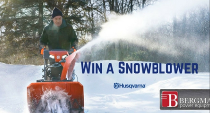 Bergman Power Equipment Win A Husqvarna Snowblower Http