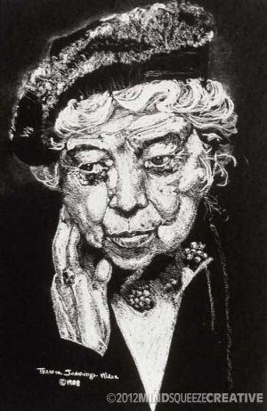 1988 Eleanor - Pastel (Collection, Artist)
