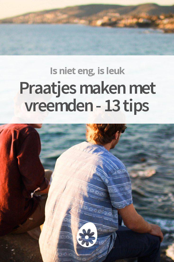 Praatjes maken met vreemden - 13 tips