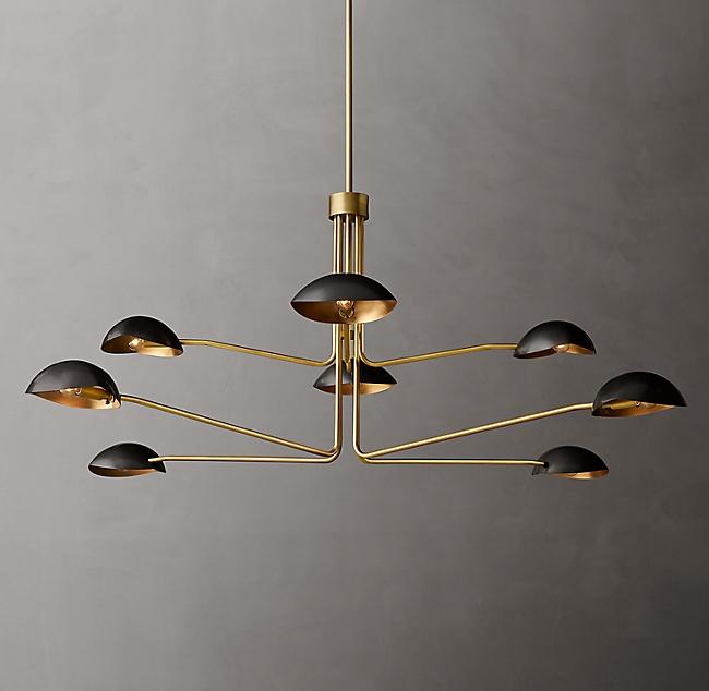 Convessi Round Chandelier 72 Modern Lighting Chandeliers Round Chandelier Modern Ceiling Lamps