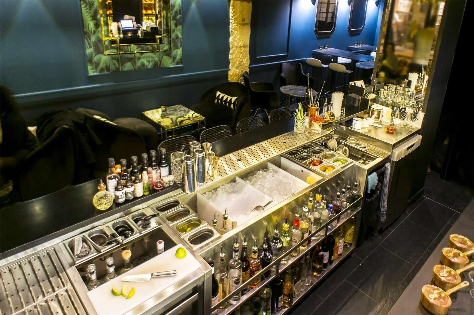 Agencement bar Bar restaurant design, Bar intérieur