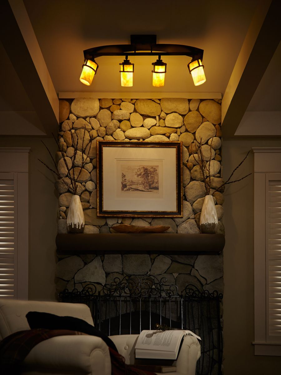 Lighting Your Home for the Holidays Farmhouse track