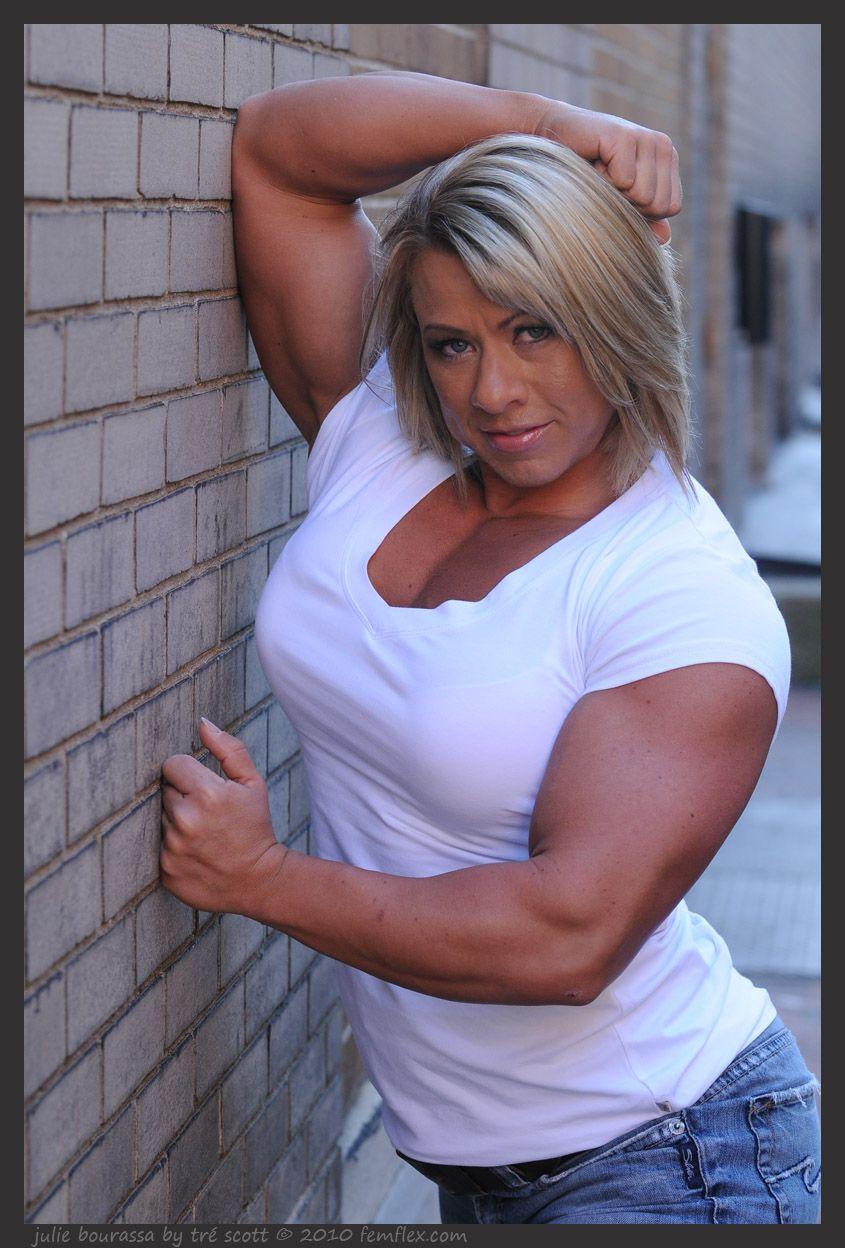 julie bourassa | 筋肉女子, 筋肉
