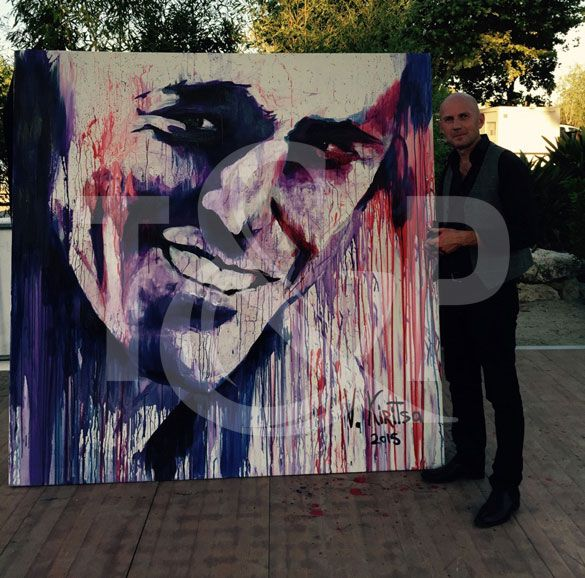 Splash Painting on the French Riviera | Entertainment agency | Corporate entertainment