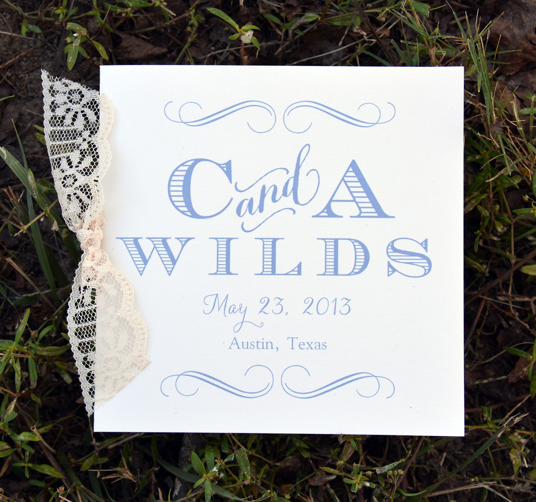 maria wedding programs from wiregrass weddings with lace wedding