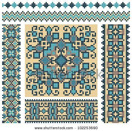 Pin von Wilma Fels auf cross stitch folk and traditional | Pinterest