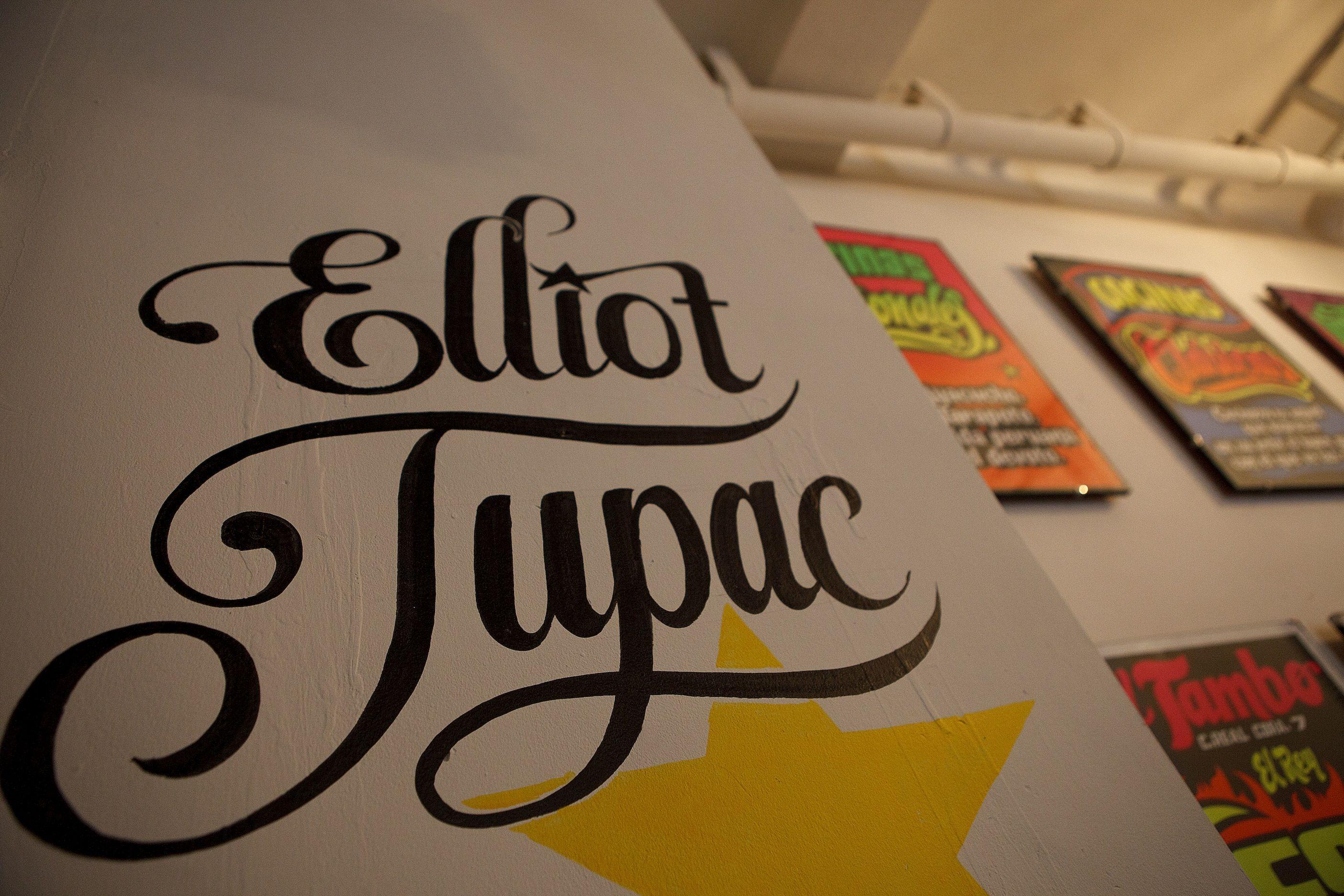 Color art tipografia - Elliot Tupac Tipograf A In Process Locaci N Bar Cultural La Emolienter A T Cnica