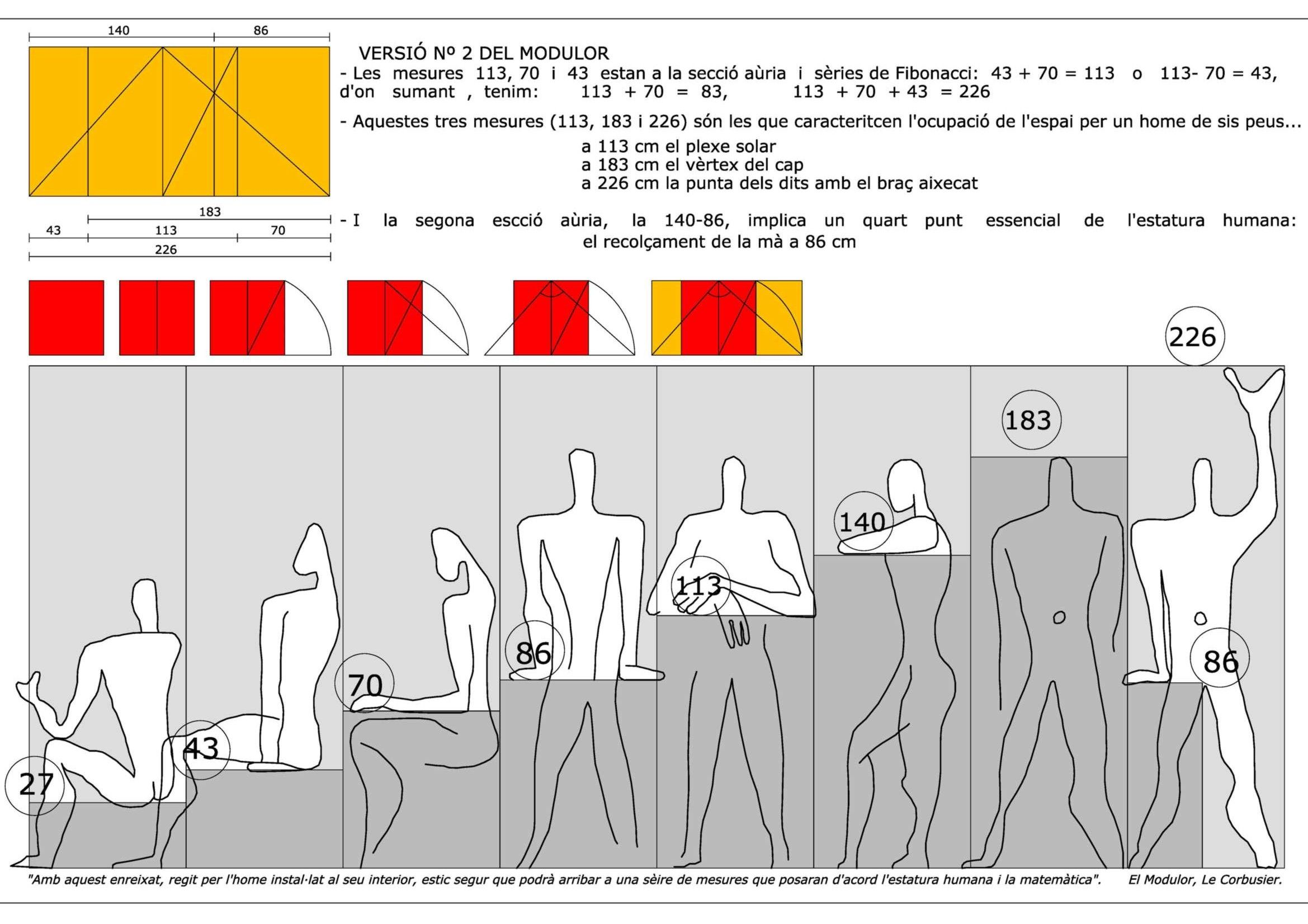 base your actions on mathematics modulor by le corbusier le corbusier pinterest action. Black Bedroom Furniture Sets. Home Design Ideas
