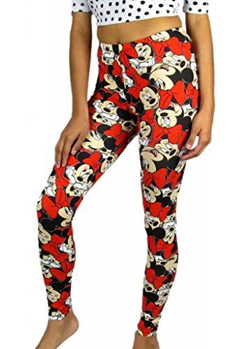 cfdfebb1067e44 Disney Womens Minnie Mouse Leggings X-large Disney http://www.amazon
