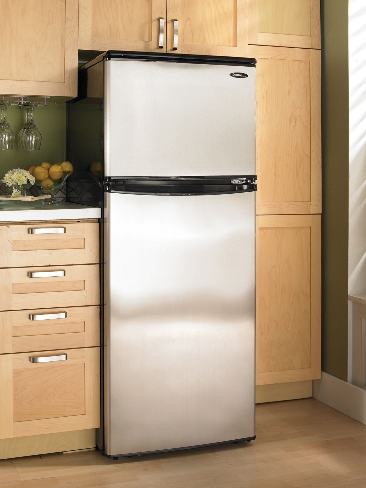 Refrigeration  Danby in the home  Apartment size refrigerator Refrigerator Top freezer