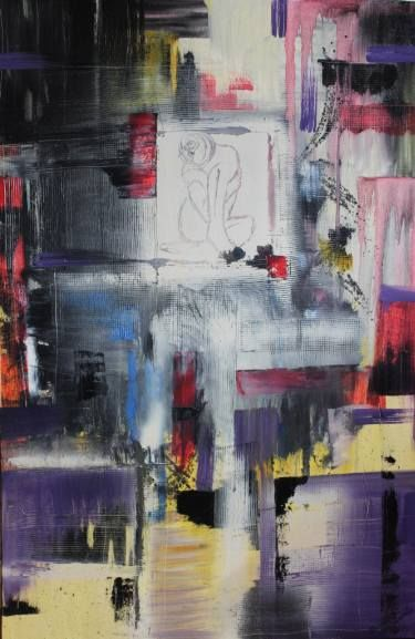 "Saatchi Art Artist Donatella Marraoni; Painting, ""Give me a break"" #art"
