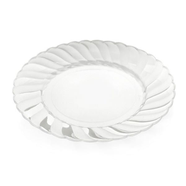 Elegant Ware 6 inch Clear Plastic Plates 216 CT  sc 1 st  Pinterest & Elegant Ware 6 inch Clear Plastic Plates 216 CT | Party Supplies ...