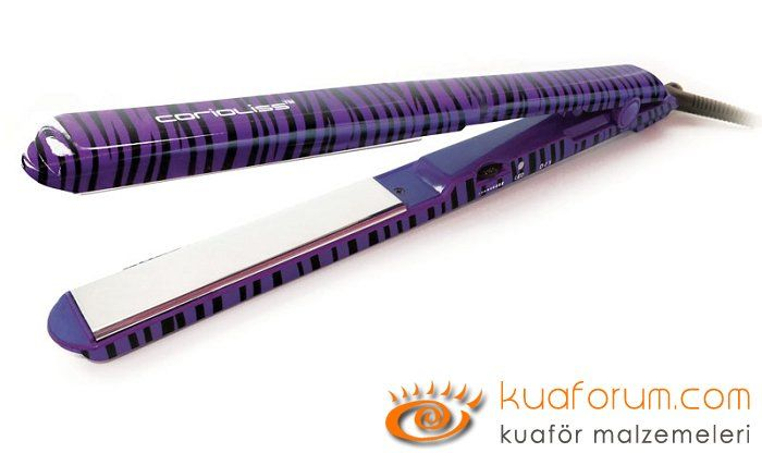 Sxe Titanium Purple Zebra Corioliss Duzlestirici Sac Masasi Sac