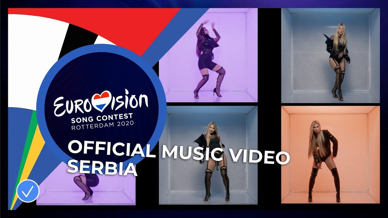 Hurricane Hasta La Vista Serbia Official Music Video Eurovisi In 2020 Music Videos Song Playlist For You Song
