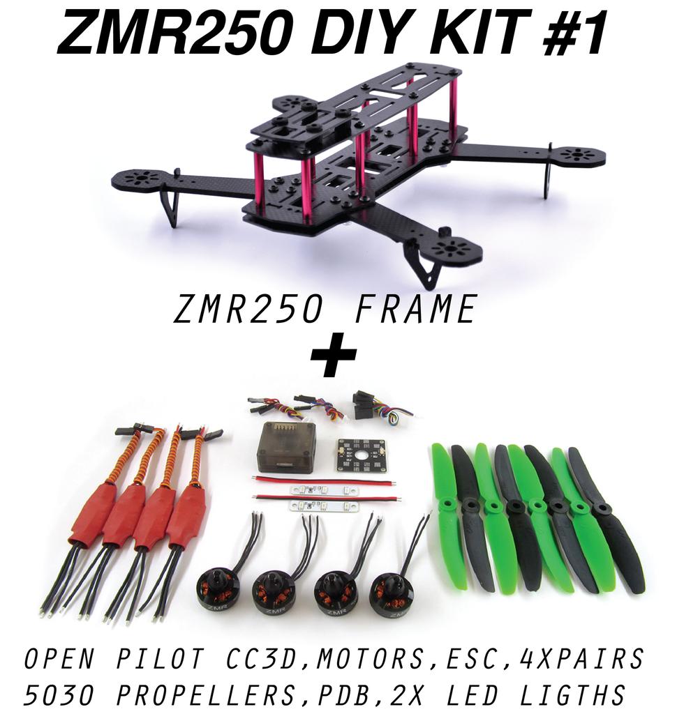 [SCHEMATICS_48EU]  ZMR 250 DIY KIT   Diy drone, Diy kits, Drone design   Zmr 250 Wiring Harness Diy      Pinterest