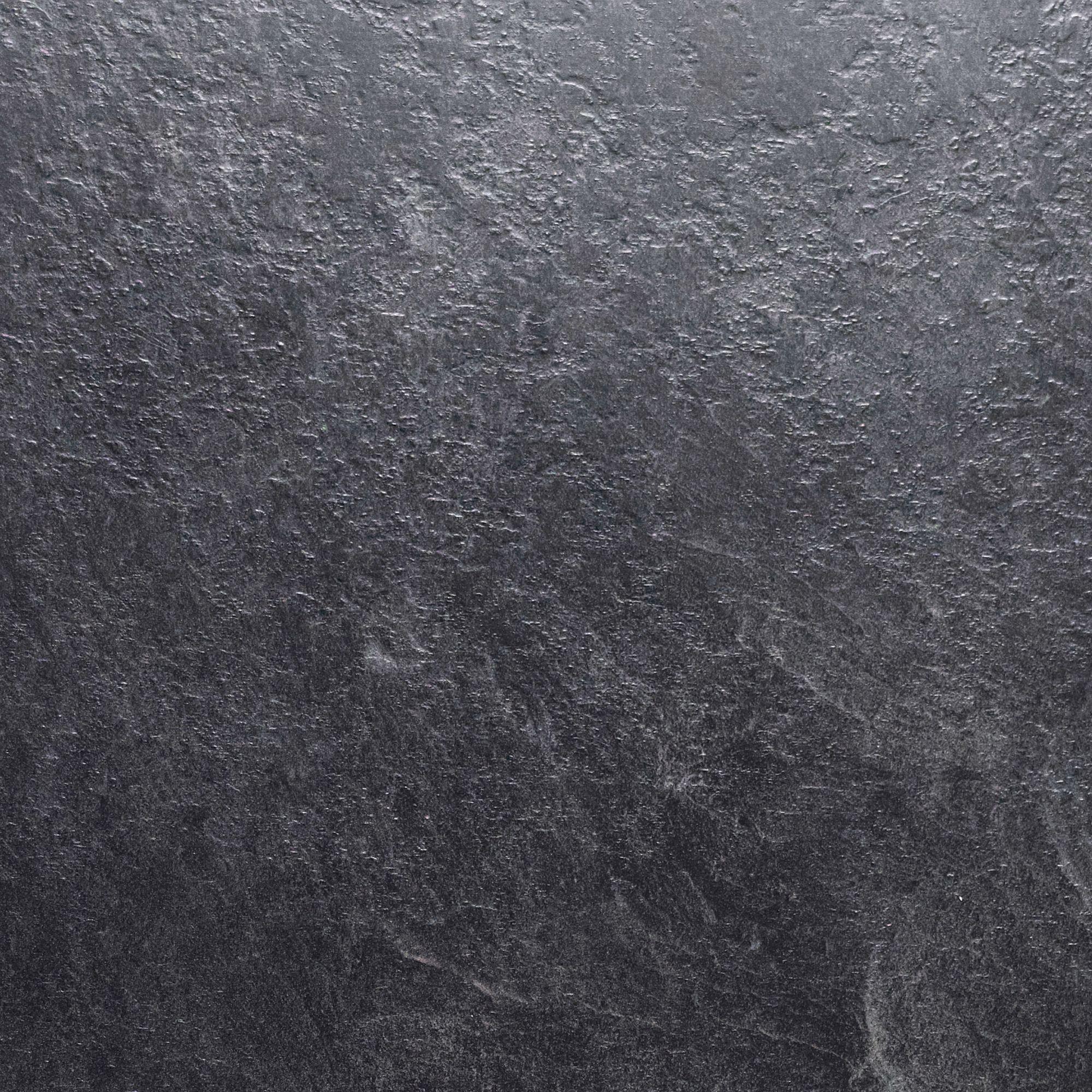 Bathroom worktops b q - 38mm Basalt Slate Laminate Round Edge Kitchen Worktop L 3000mm D 600mm