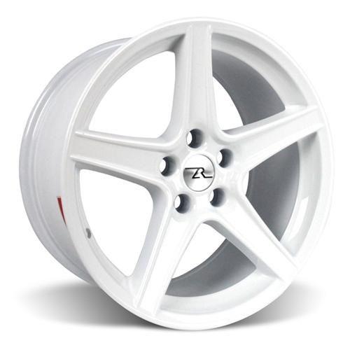 Sve Mustang Saleen Style Wheel 18x9 White 94 04 Wheel Mustang Car Wheel
