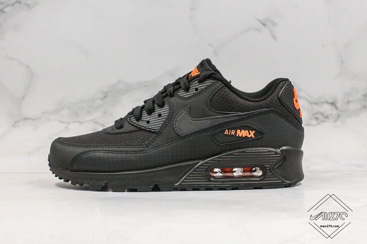 Nike Air Max 90 Halloween Black Orange in 2020   Air max 90 black