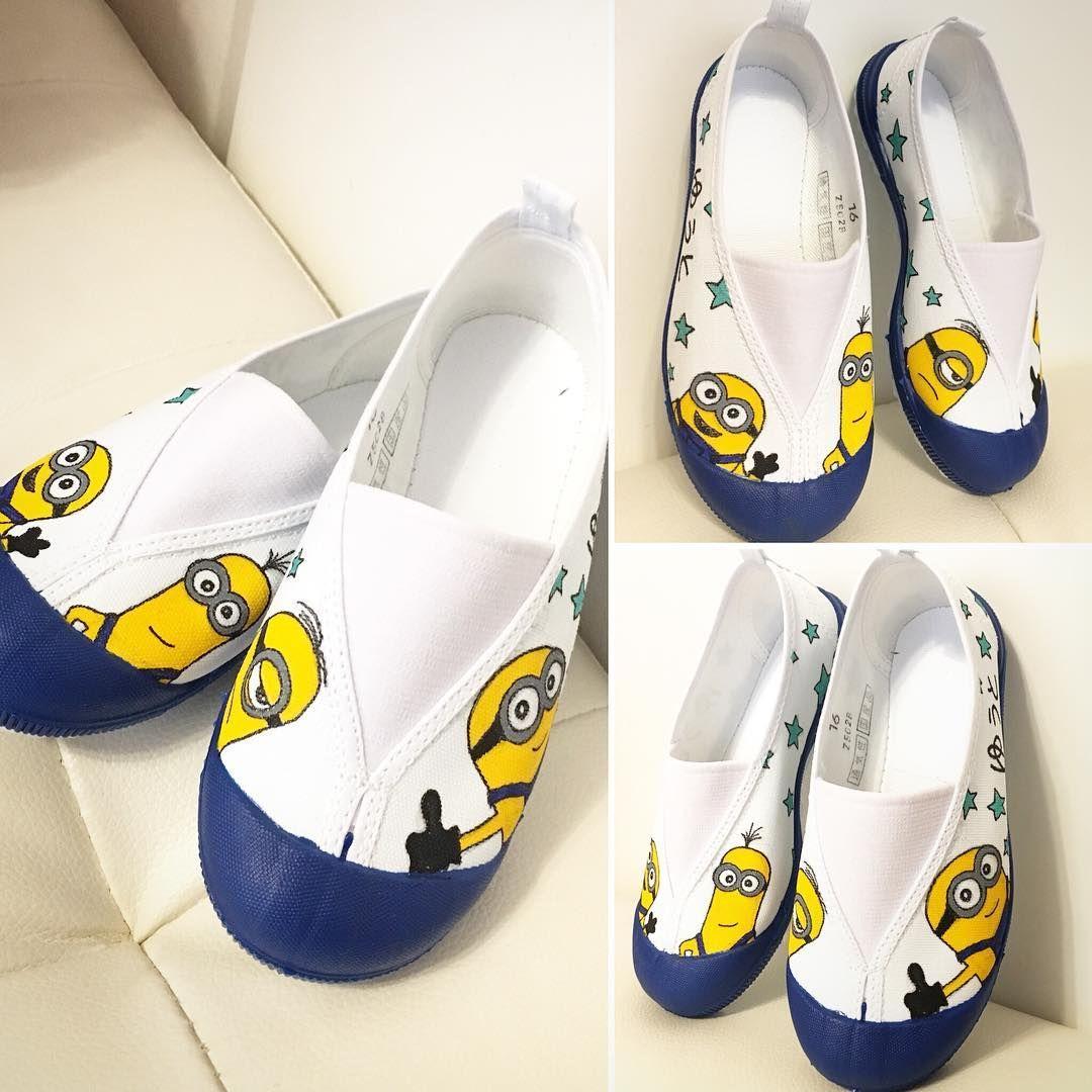 子供の上履きや上靴を手描きイラストでデコろう Handful ハンドフル 上履き イラスト 可愛い靴 上靴 デコ