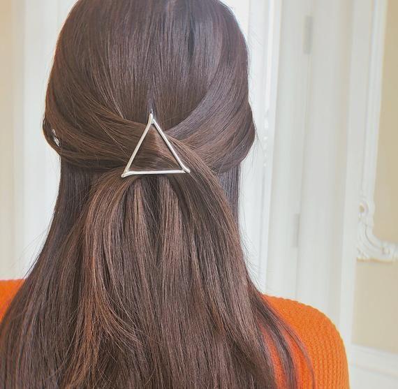 10 Silver Colour 7.5cm Metal Hair Clip Side Bridemade Craft Big Bow