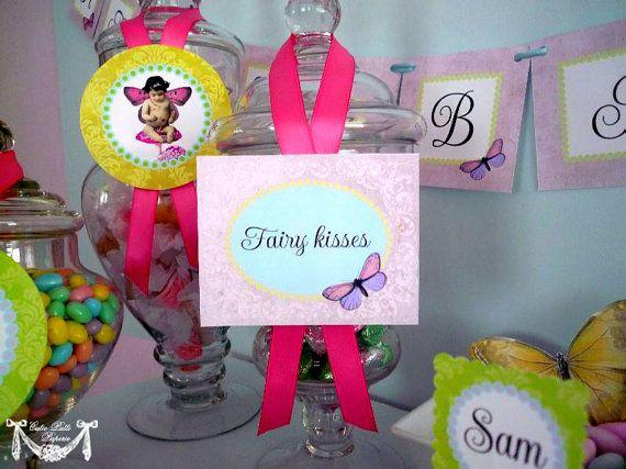 Fairy Princess Party Garden Party  PRINTABLE BLANK by CutiePutti, $7.50
