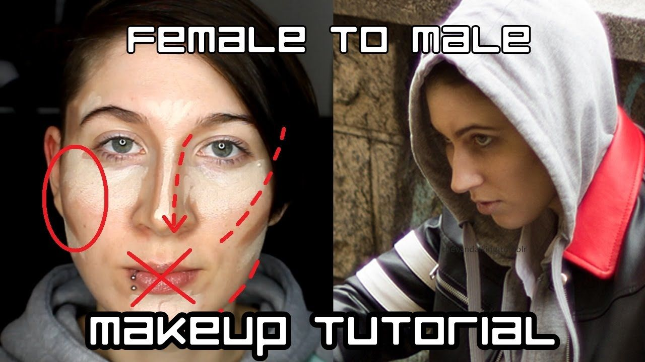 Female To Male Ftm Crossplay Makeup Tutorial Male Makeup Makeup Tutorial Makeup