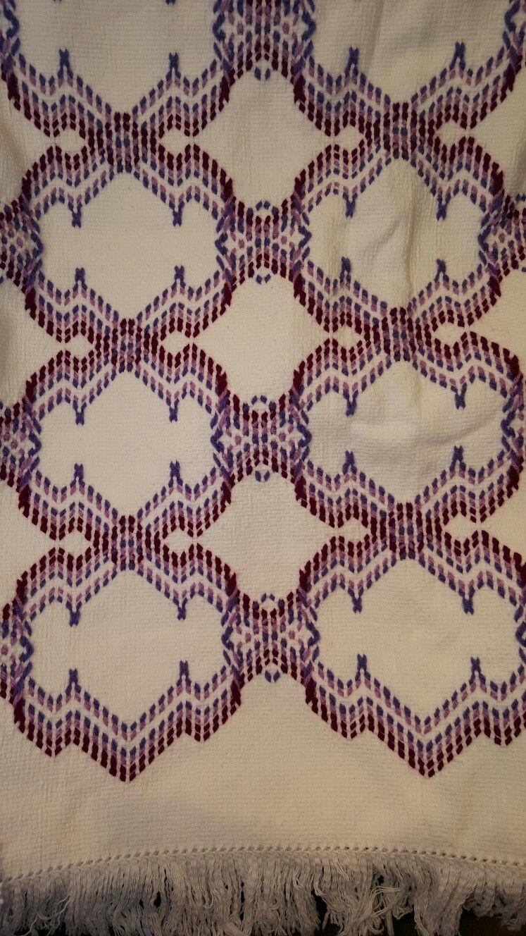 Pin de Susan Cooksey en Swedish weaving and Huck weaving | Pinterest ...