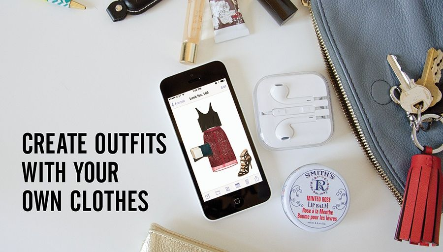 Stylebook app create outfits with your own clothes!