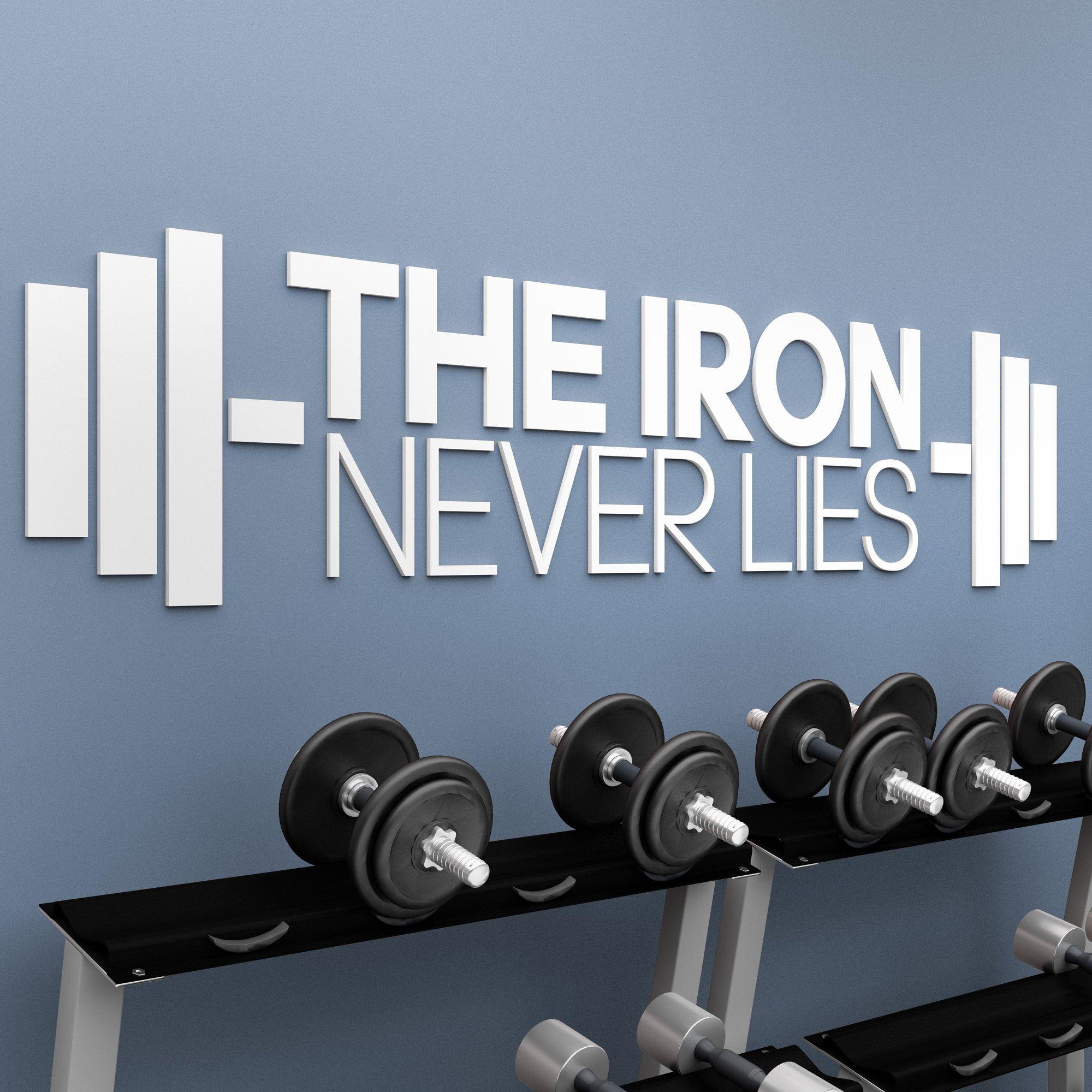 Fitness Inspirational Wall Art
